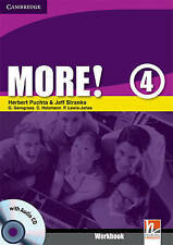 More! Level 4 Workbook with Audio CD, Lewis-Jones, Peter, Holzmann, Christian, G
