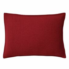 RALPH LAUREN RED Cashmere Pique THROW PILLOW 15 x 20 Retail $285 NWT