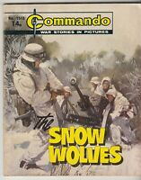 COMMANDO COMIC - No 1513   SNOW WOLVES