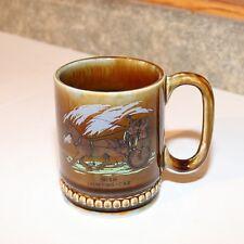 Wade Irish Porcelain Coffee Mug - Jaunting Car