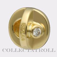 Authentic TrollBeads 18K Gold Yes! Bead Trollbead  31103 *LAST ONE*