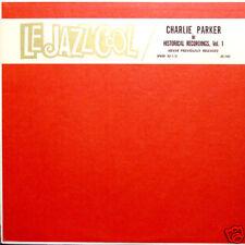 CHARLIE PARKER Le Jazz Cool vol 1 US Press LP