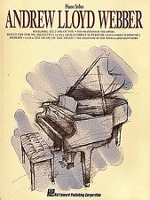 Andrew Lloyd Webber for Piano Sheet Music Piano Solo Composer Collecti 000292001