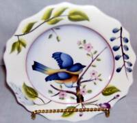 Homco Home Interiors Songbird Plates Set of 3 NEW in Box Birds Ceramic Collector