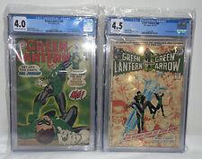 Green Lantern #59 CGC 4.0 1st App. Guy Gardner #86 4.5 Neil Adams Drug Issue HOT