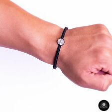 Kavak - Handmade Men Black - Saint Benedict Adjustable Bracelet