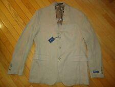 nwt $595 Polo Ralph Lauren 100% Linen Made In Italy Blazer/Jacket sz 42L