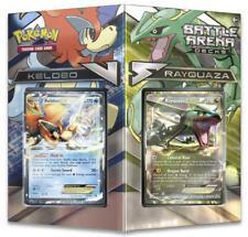 Pokemon TCG Battle Arena Decks: Rayquaza vs. Keldeo: 2 x 60 Cards Complete Decks