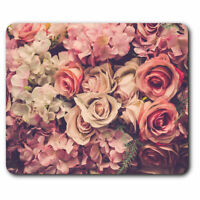 Computer Mouse Mat - Beautiful Roses Rose Flower Office Gift #2446
