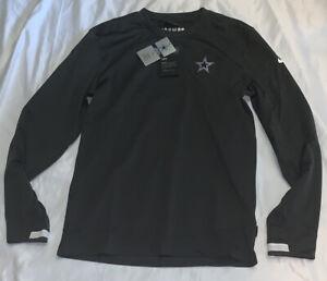 Men's Dallas Cowboys Nike Sideline Logo Pullover Sweatshirt Large NWT $75