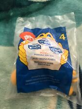 2001 MCDONALD'S HAPPY MEAL TOY -Disney's House of Mouse #4 Pluto plush toy