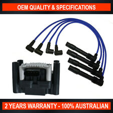 Swan Ignition Coil Pack & NGK Lead Kit for Audi A3 (8L)