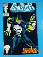 The Punisher final days   #54 Marvel Comic book