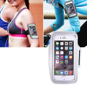 White Sport Armband Holder For Samsung Galaxy S4 S5 S6 S8/+/S7/Edge Note3