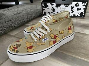 Vans Off the Wall Authentic Disney Winnie the Pooh Women's 8/ Men's 6.5 Sneaker