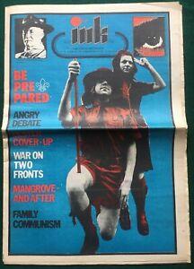 INK #25 January 1972 OZ-related underground Magazine. OZ, IT,