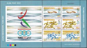 Albania 2001 Souvenir Sheet MNH Michel Catalog Block nº 133 *** (2818/20KB)