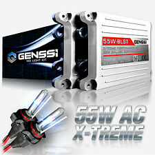 GENSSI H4 HID Headlight Conversion Kit Low Beam 55W X-Treme Upgrade 5000K