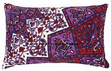 Purple Star Mandala Tapestry Psychedelic Cushion Pillow Case Cotton Pillow Cover