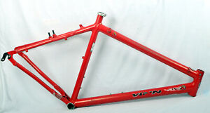 """1997 Schwinn Homegrown 20.5"""" Mountain Bike Frame Large """"Killer Tomato Red"""" 26"""""""