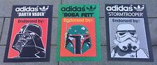 Adidas Originals Star Wars X3 A3 Art Prints mort Vader Boba Fett Stormtrooper