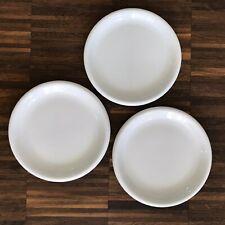IKEA Rondo weiß 3x Kuchenteller 19 cm Desserteller kleine Teller