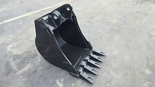"New 24"" Backhoe Bucket for a Caterpillar 416E with Coupler Pins"