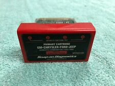 Snap-on MT25001099 Primary Cartridge, GM-Chrysler-Ford-Jeep, Thru 1999, OBD-II