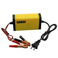 12V 2A Auto Fast Smart Lead Acid Battery Charger For Scooter  Motorcycle ATV