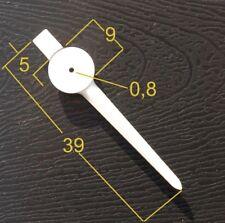 ZEIGER POINTER  TACHONADEL beige  für INSTRUMENTE VDO Ø=80mm