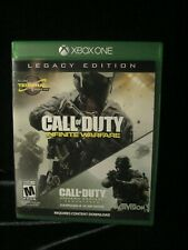 Xbox One Call of Duty Infinite Warfare Legacy Edition complete
