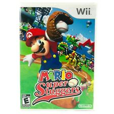 Mario Super Sluggers (2008) - Nintendo Wii Baseball Sports Adventure Video Game