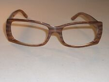 bf35d85cb2 RAY-BAN RB4067 689 SLEEK WOOD GRAIN RECTANGULAR SUNGLASSES EYEGLASS FRAMES  ONLY