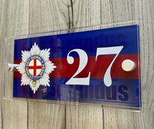 More details for coldstream guards military house number sign