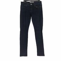 Joes Jeans Womens Blue Chelsea Dark Wash Stretch Skinny Jeans Size 28