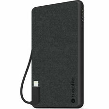 Mophie - Powerstation Plus Mini Portable Charger w/ Switch Tip Cable - For Apple