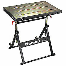 BUILDPRO Portable Welding Table,30W,20D,Cap 350, TS3020, Black