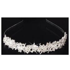 Bridal Wedding Rhinestone Tiara Crown Hair Band Headband Prom Pageant Q9T2 V4K8