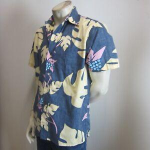 REYN SPOONER Shirt sz M / L Hawaiian - BUY Any 5 Items = Free Post