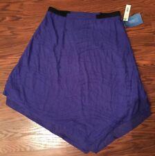 SImply Vera Wang Layered Skirt Size Medium Color Blue