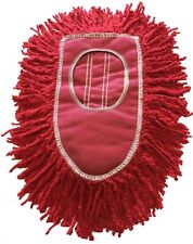 Triangle Dust Mop Heads - 4 PACK - Red