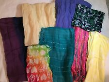 Lot of 8 ~ Women's/Girls Scarves and Infiniti Scarves