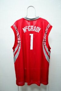NBA Houston Rockets Tracy McGrady #1 Jersey Adidas Shirt XXL 2XL