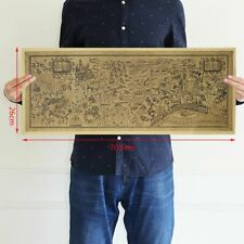 70x26cm Harry Potter Map Collectors Poster Magic Wizarding Poster Old World Map