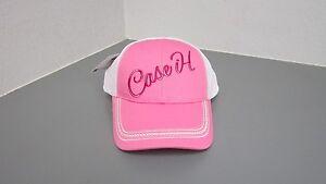 Case IH Cursive Pink Mesh Back Hat
