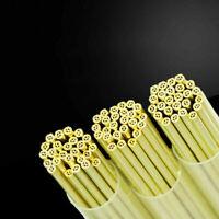 Ø1.8X400 mm  EDM Drilling Electrodes Multi-Channel Brass Tubes 100 pcs Ø1.1