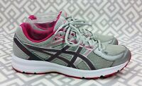 Womens Asics Jolt Running Shoes Gray Pink Running Athletic Shoes T7K8N Size 9