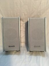 Pair Of Panasonic Home Theater Sb-Fs803 Speakers - Silver