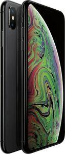 Apple iPhone XS Max 64GB / 256GB - Factory Unlocked Verizon AT&T - Very Good