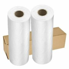 2 Roll 12 x 16 Plastic Clear Produce Bag Fruits Vegetable Food Storage 350/Rolls